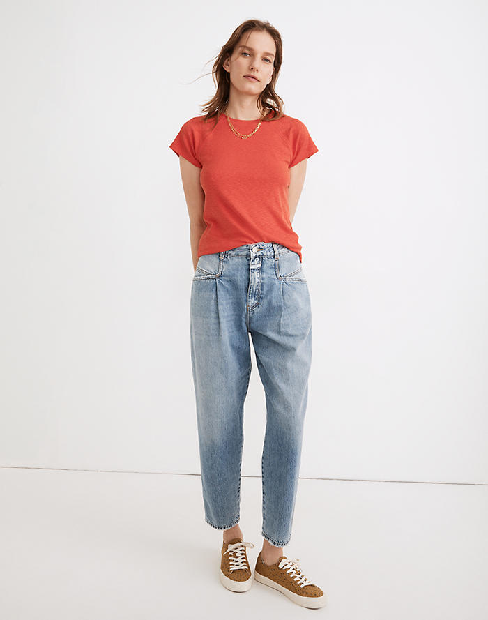 Madewell Closed Pearl Tapered Jeans