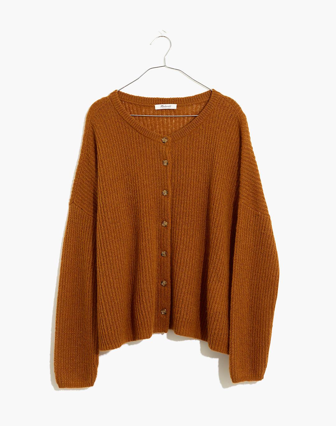 Bellaire Cardigan Sweater in golden pecan image 5