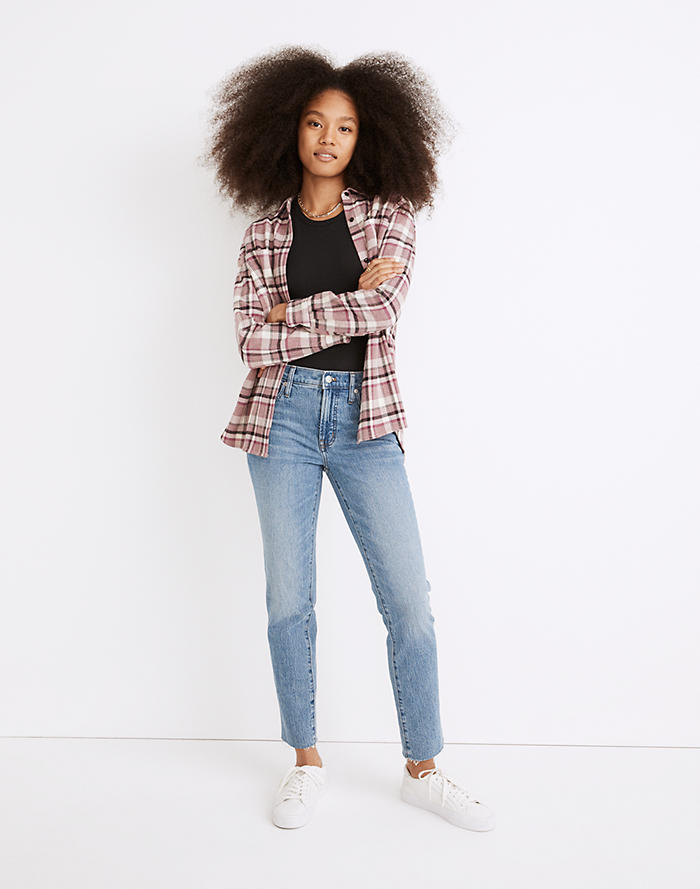Madewell The Mid-Rise Perfect Vintage Jean in Enmore Wash